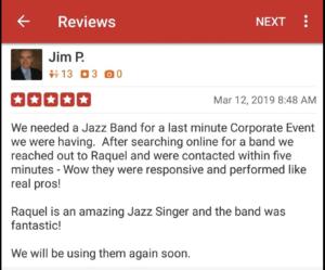 Jazz Band Singer reviews